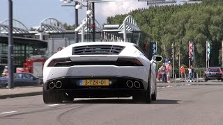 BEST of Supercar SOUNDS: Huracán, Aventador, AC Cobra, RS6, V12 Zagato, Ford GT