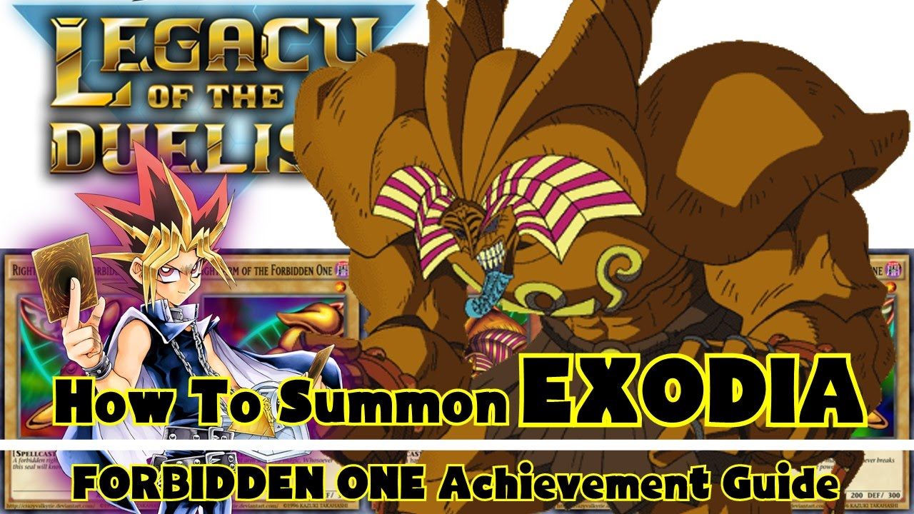 yu gi oh legacy of the duelist forbidden one achievement guide