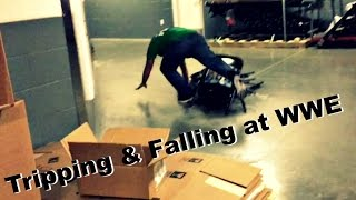 Tripping &amp Falling at WWE No Mercy!! (Daily #778)