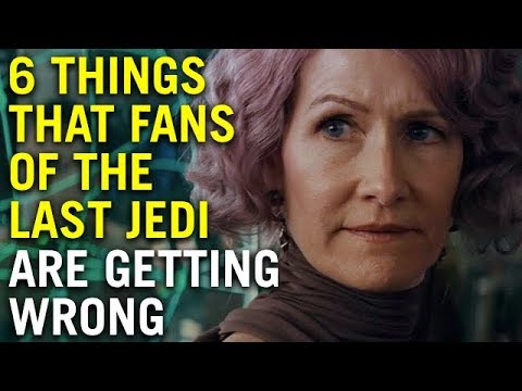 6 Things that fans of The Last Jedi are getting wrong