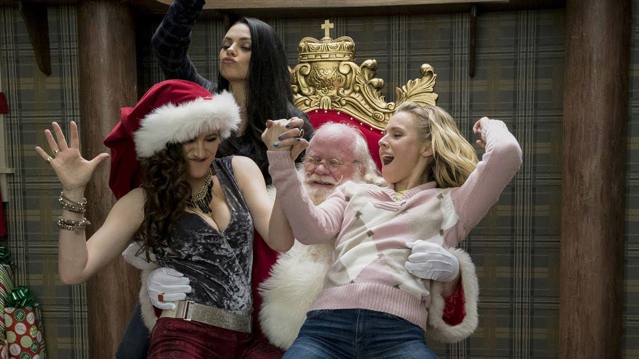 Trailer: A Bad Mom's Christmas med forord fra Mila Kunis - YouTube
