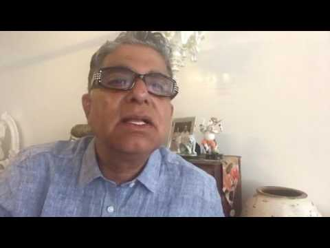 Chaos and Creativity: Complementary aspects of fundamental reality - Deepak Chopra, MD