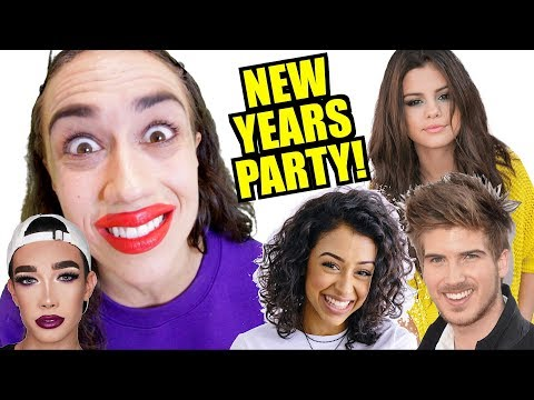 CELEBRITY NEW YEARS EVE PARTY!  *Must Watch!*