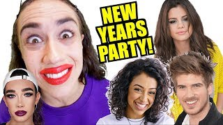 CELEBRITY NEW YEARS EVE PARTY!  *Must Watch!* thumbnail