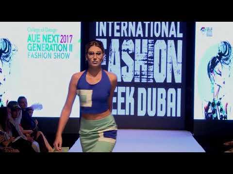 American University in the Emirates @ International Fashion Week Dubai Season 5