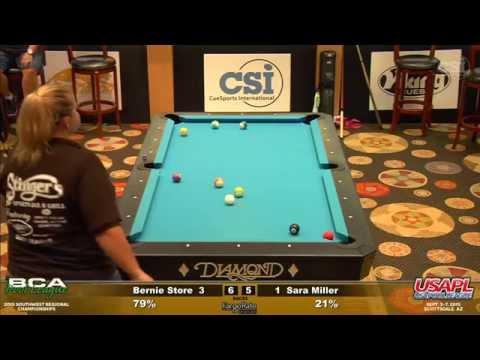 Women's Singles: Bernie Store vs Sara Miller (Finals)