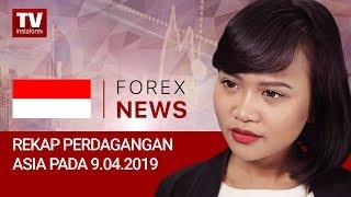 InstaForex tv news: 09.04.2019: Rangkuman perdagangan Asia: Investor Asia kembali memperoleh pengambilan resiko