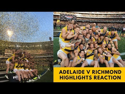 Reaction to 2017 AFL Grand Final Highlights