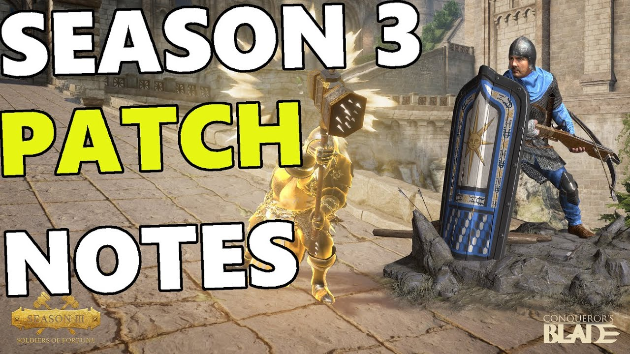 Cavalry High Rank Roblox Conqueror S Blade Season 3 Full Patch Notes New Units New Hero Cavalry Nerf More