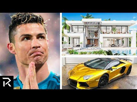 How Cristiano Ronaldo Spent Half A Billion Dollars