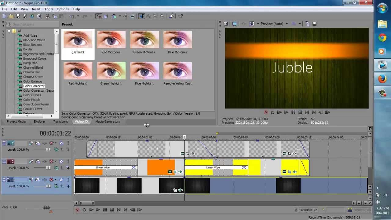 Sony Vega Pro 13 How To Make A 2d Animated Intro In Sony Vegas Pro 13