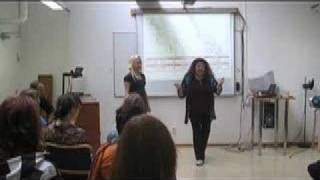 Cathrine Sadolin teaching extreme vocal effects - distortion