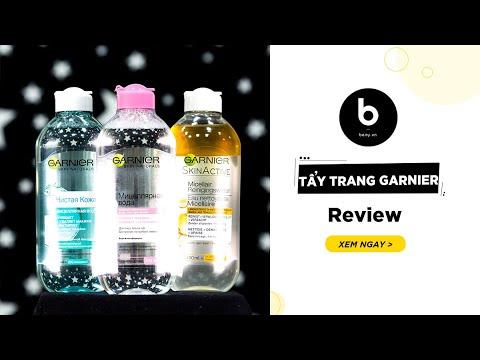 Tẩy Trang Garnier – Review Chi Tiết Và Hướng Dẫn Sử Dụng