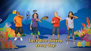 Let's go Deep Deep Deep - Christ Kids Action Song