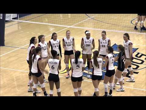 2015 WAC Volleyball Tournament: Semifinals