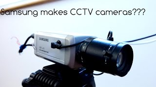 Samsung makes CCTV cameras??? …