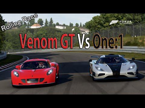 Bugatti veyron vs hennessey venom race