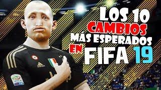 10 nuevos CAMBIOS en FIFA 19 MODO CARRERA JUGADOR & CLUBES PRO | NOVEDADES más ESPERADAS