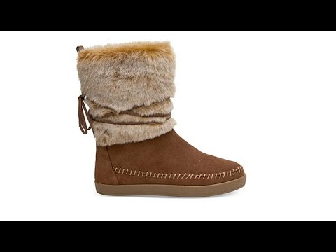 e99a90f6533 TOMS Nepal Suede Mixed Media PullOn Boot