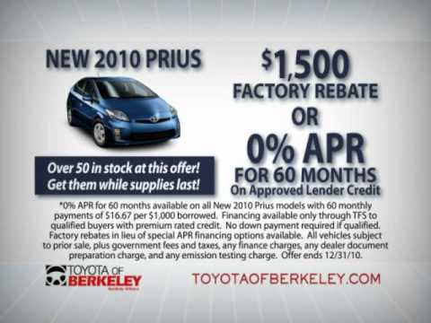 Toyota of Berkeley - Holiday Promotions 2010