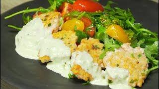 Рыбные котлеты из рубленого лосося. Рецепт от Всегда Вкусно.