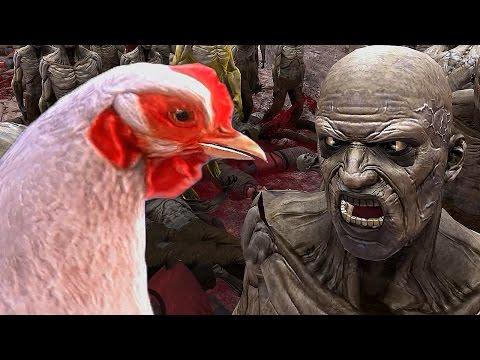 видео: ОСАДА ЗАМКА И КУРИЦА ПРОТИВ ЗОМБИ ► Ultimate Epic Battle Simulator #4