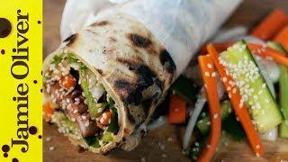 Bbq Pork Fillet Wrap | Aaron Craze's Street Food