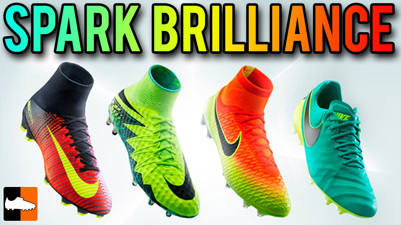 Nike Spark Brilliance Pack | 2016 Euro & Copa América Football Boots/Soccer  Cleats - YouTube