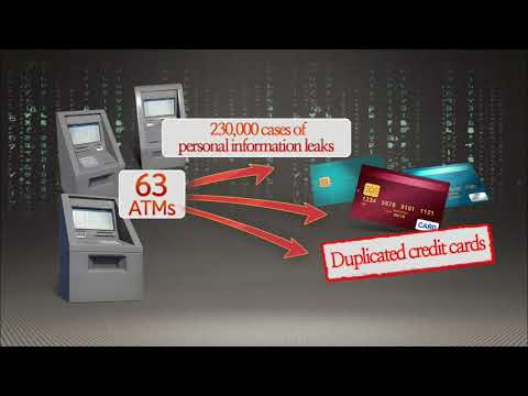 ATM Hacking Attack