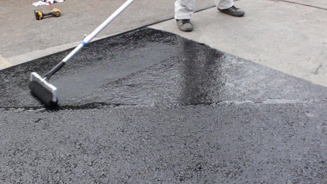 How To Renovate an Asphalt or Tarmac Floor with Rizistal