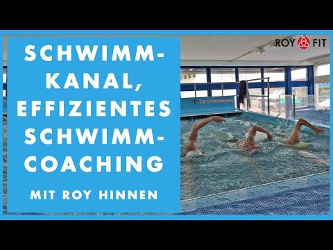 Schwimmkanal, effizientes Schwimmcoaching mit Roy Hinnen