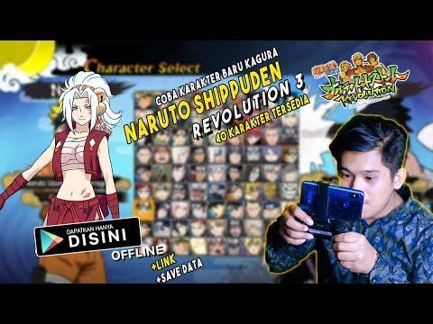 Game Naruto Terbaik Dengan Semua Karakter Terbuka - Coba KARAKTER BARU   Naruto Revolution 3 ANDROID