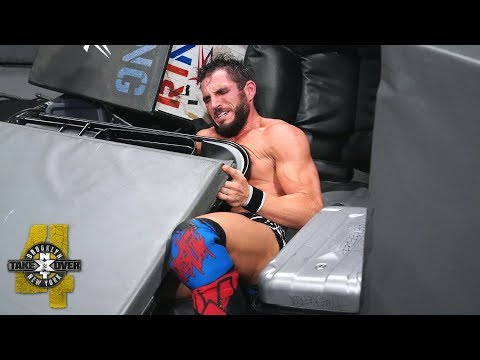 Tommaso Ciampa literally buries Johnny Gargano: NXT TakeOver: Brooklyn IV (WWE Network Exclusive)