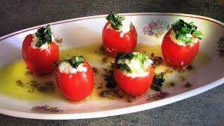 Caprese Salad With Modern Plating (italian Insalata) Restaurant Recipe