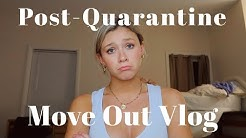 EMOTIONAL Post-Quarantine Move-Out Vlog | SORORITY HOUSE | Elon University
