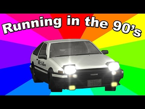"""What Is """"Running In The 90's""""? The history and origin of the Initial D/Eurobeat Remix Memes"""