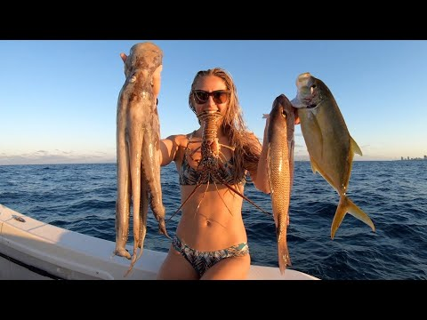 Ocean Isolation Spearfishing For Food!
