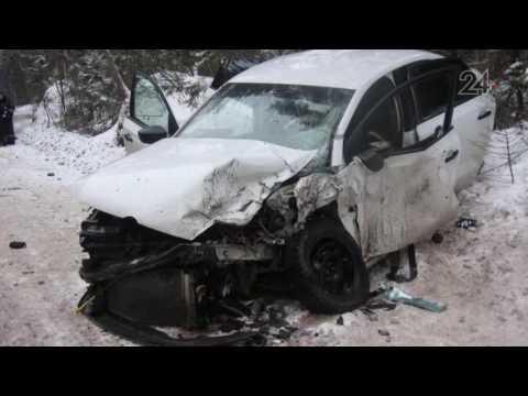 Несколько человек пострадали в результате аварии в Зеленодольском районе