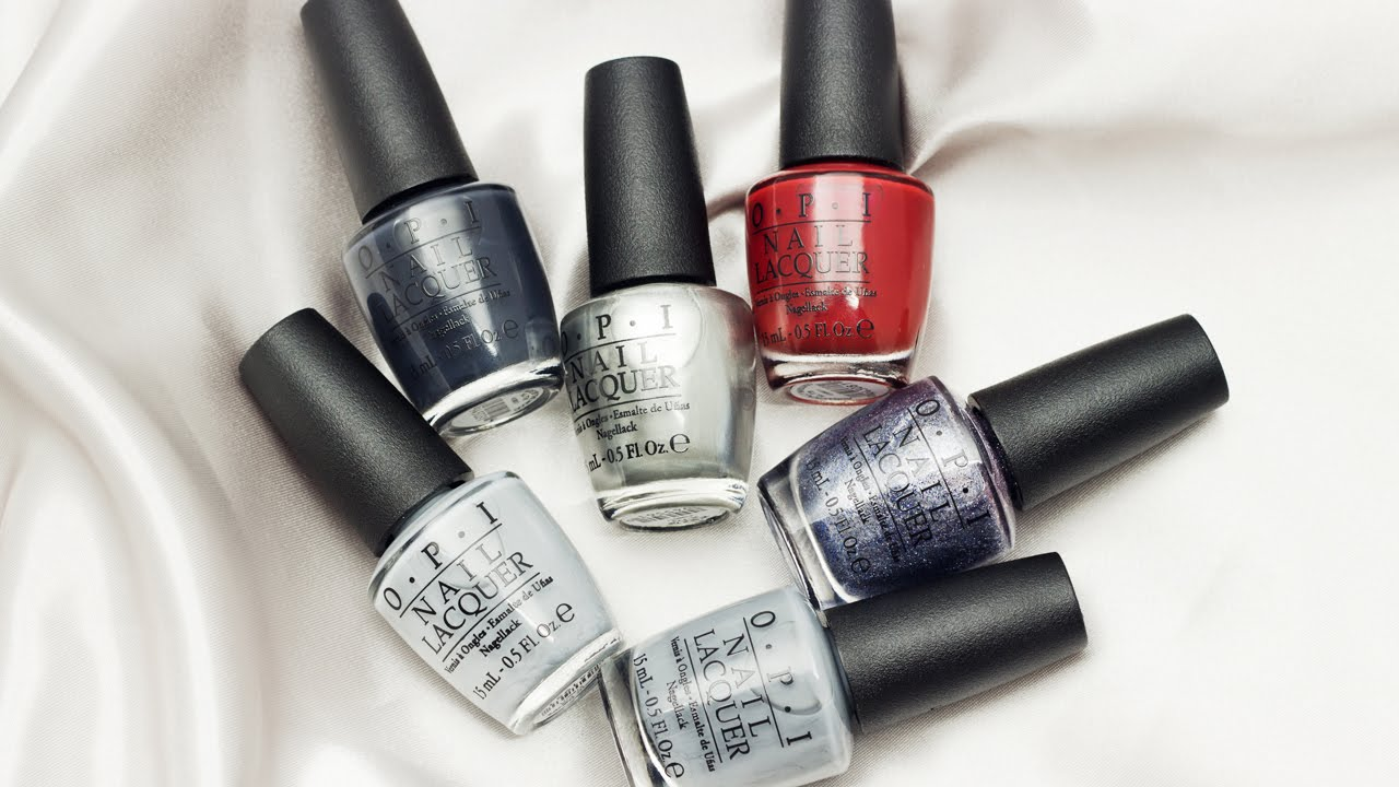 manicure monday opi presents 50 shades of grey collection