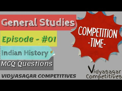 General Studies Ep-#01 |Vidyasagar Competitives|