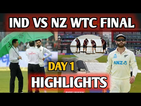 Download IND VS NZ TEST DAY 1 HIGHLIGHTS || India Vs New Zealand WTC FINAL MATCH TEST DAY 1