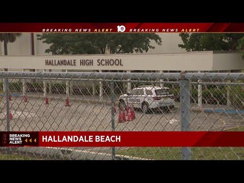 Hallandale High School student arrested after bringing gun to school