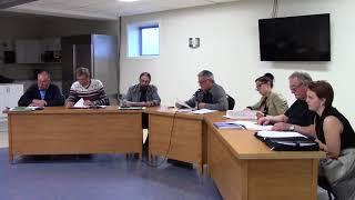 Séance du conseil municipal du 7 mai 2018 partie 1