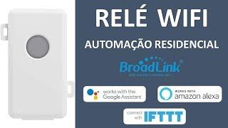 rel WIFI Broadlink SC1 para Automaço Residencial  Compatvel Google Home, Amazon Alexa e IFTTT