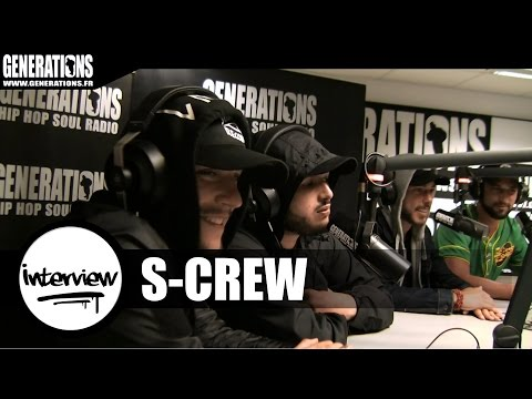 Youtube: S-Crew – Interview #DestinsLiés (Live des studios de Generations)