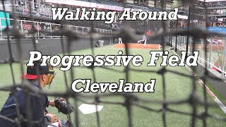 メジャーリーグ 球場ぶら歩き@クリーブランドインディアンズ warking around Progressive field Cleveland