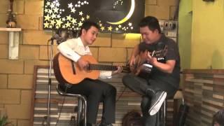 Triệu đóa hoa hồng -  Hòa tấu ngẫu hứng guitar Văn Anh & Hoàng Như Định TPHCM