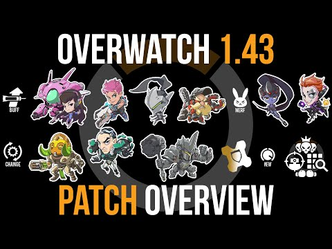 Overwatch Patch 1.43 Overview