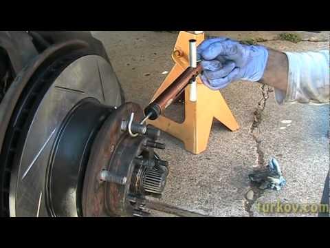 Diy 1994 4runner Front Brake Job Incl New Rotors Amp Wheel