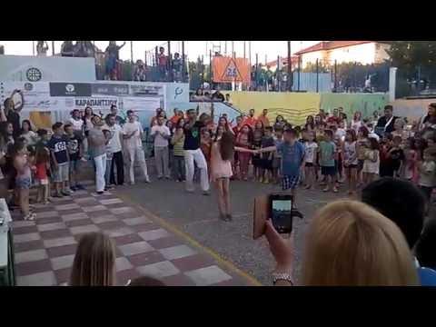Jacobina Arte Thessaloniki - Show capoeira